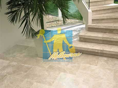 limestone tiles honed santa anna