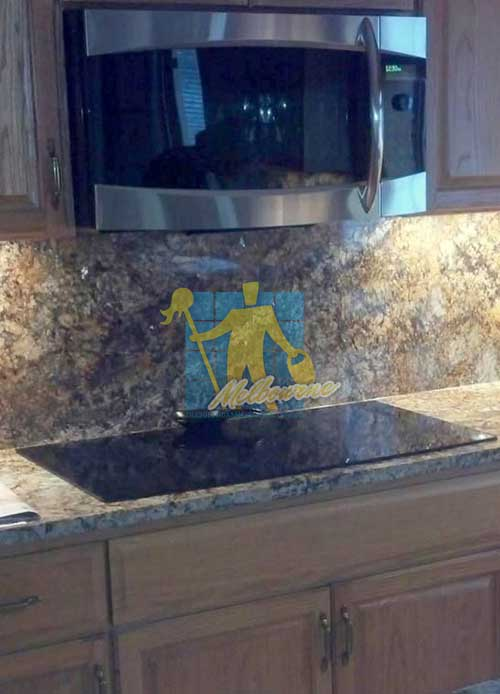 Melbourne polished granite counter-tops