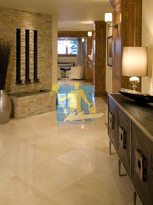 polished travertine floor for home