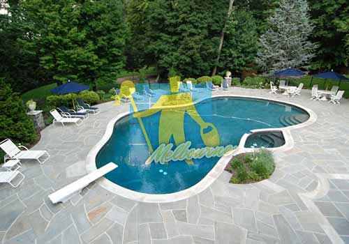 slate outdoor swimming pool Melbourne