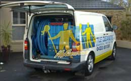 Tile Cleaners Melbourne Van & Equipment