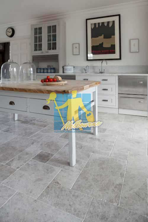 Cora Lynn marble tumbled tundra tile_kitchen