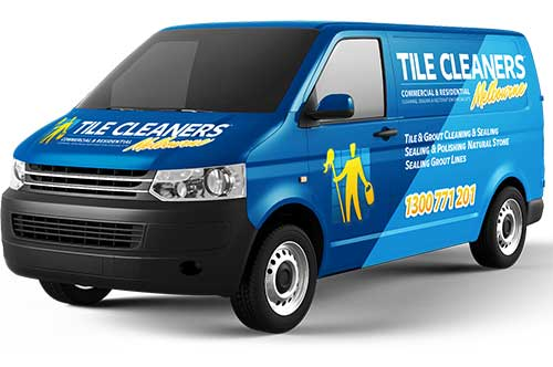 Melbourne Tile Cleaners Van