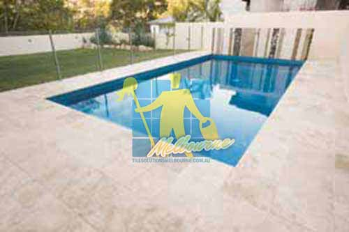 Sealing Outdoor Travertine Tiles Around Pool