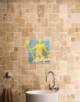 Travertine Wall Tiles Muodular Unfilled Tumbled